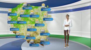 Prognoza pogody na poniedziałek